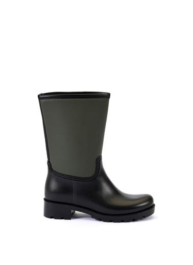 Esem ESEM B0003 Yağmur Botu Kadın Ayakkabı  Yeşil